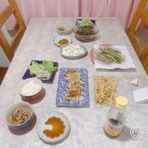 夜ご飯と定期便。
