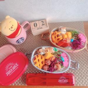 obento◡̈⃝115  お弁当は3つ☺️