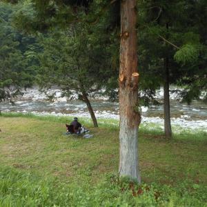 6月21日馬瀬川上流の様子