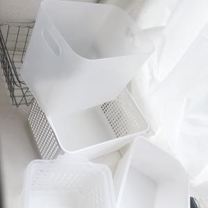 最近、わたしが取っ払ったものシリーズ①〜透明の収納アイテム〜