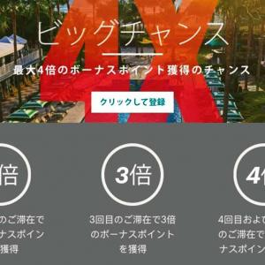 IHGホテルの夏キャンペーン 最大4倍のボーナスポイントが