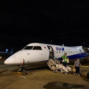 ANA1656便 搭乗記 DHC8-Q400