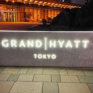 グランド ハイアット 東京 宿泊記 高層階キングルームは景色まで豪華だ
