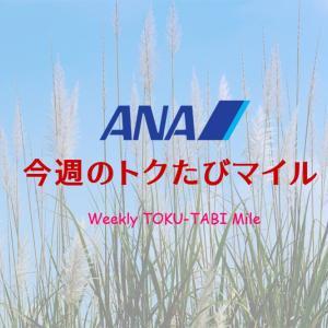 【ANA トクたびマイル 9月最初】申し分ない都市設定