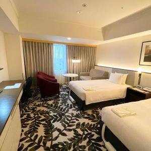 【ANAクラウンプラザ 宿泊記】グランコート名古屋 デラックスツインの特別なベッド