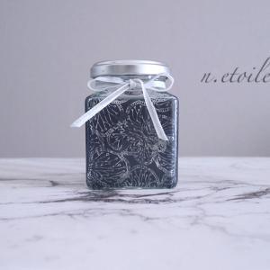 【ポーセラーツ】ガラスの小瓶