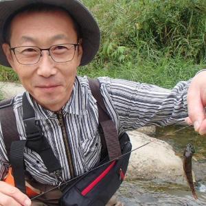 岩魚釣り師のカジカ釣り