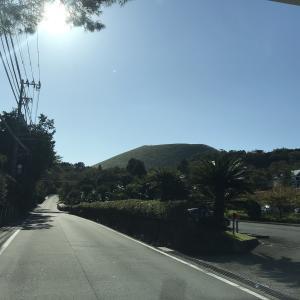 大室山での眺望を楽しみ(*^0゚)v うずわを食べに行きました!