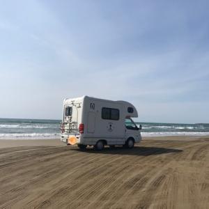 北陸を食べよう~旅( ๑>ω•́ )ﻭアミティ千里浜なぎさドライブウェイを走る&コンビニ飯