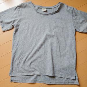超汗っかきでも汗ジミが気にならないグレーのTシャツ