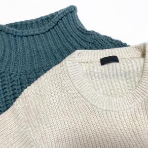 セーターでチクチクする素材は?毛玉になりやすいのは?