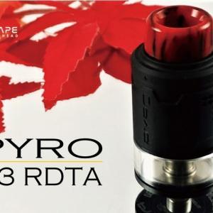 爆煙で美味いよ!! VandyVape Pyro V3 RDTA
