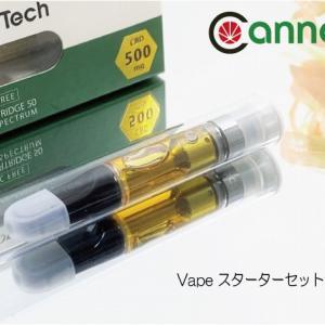 超高濃度⁉ CannaTech CBD Vapeスターターセットが凄い