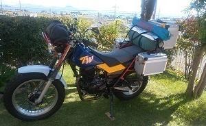 開けてびっくり エンジン腰上 バイクレストア 第5弾【16】TW200なんちゃってアドベンチャー化
