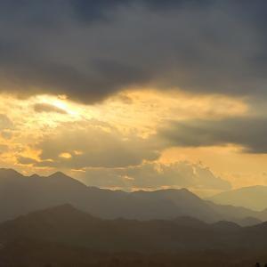 年が明け、夕やみ迫る八重山へ(八重山103回目)(2020年1月4日)