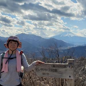 高川山 - 中央線から富士急行線へ(2020年02月10日)