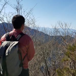 笹子雁ヶ腹摺山 - 甲州、国中から郡内へ(2020年02月11日)