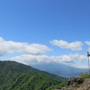 本社ヶ丸・清八山・三ツ峠山 - 秀麗富岳の山から富士の展望台へ (2021年5月4日) (2021年5月4日)