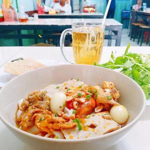 Mi Quang 3 Anh Em-小腹が空いた時に!ベトナム中部麺料理ミークアン専門店