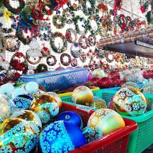 【期間限定・2019年版】もうすぐクリスマス!タンディン教会敷地内のクリスマスグッズショップへ!