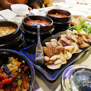 CHEONGDAM BBQ&SUSHI-家族・大人数で楽しめる広々空間!2区タオディエンの韓国焼肉レストラン【ランチメニューあり】
