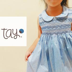 TAY.clothing-デザインもお値段も可愛すぎる!!子供服スモッキング刺繍店【ママとのリンクコーデにも】