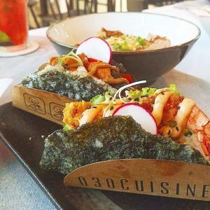 030 Cuisine-おしゃれで新しい!こんなところに隠れ家アジアフュージョン料理レストラン