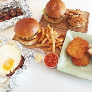今日はがっつり食べたい日に!『Con Bo Map』ボリューム満点の肉肉しいハンバーガーをお家で!