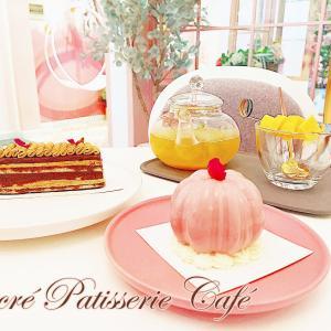 Sucre Patisserie-髙島屋のすぐ近く!写真をつい撮りたくなる花に囲まれたピンク可愛いカフェ