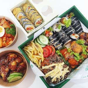 韓国ファストフードの詰め合わせ!『The B6 Saigon』コスパ良すぎの韓国料理をデリバリー