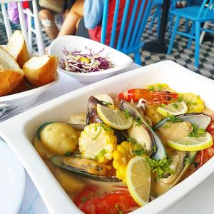 SUMMER CRAB-マリンテイストが可愛い!ホーチミン市2区のシーフードレストラン