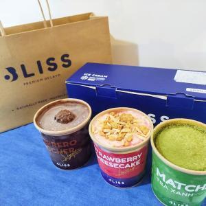 【デリバリー】濃厚な味わい!「Bliss Premium Gelato」ホーチミンのイタリアンジェラート店