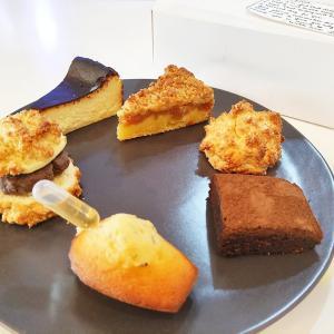 【デリバリー】「Cafe Luia」人気の韓国系カフェ!バスクチーズケーキやあんこバタースコーンも!
