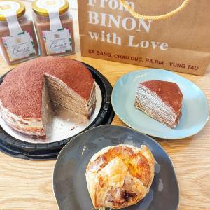 【BINON】「さくさくパイ生地チョコシュークリーム&クレープケーキ」大人がハマるリッチな味わい!【ホーチミン】