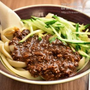 再訪!台北「永康刀削麺」で念願の炸醤麺