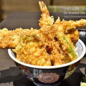 浅草グルメな天丼が食べたくて。「下町天丼 秋光浅草本店」