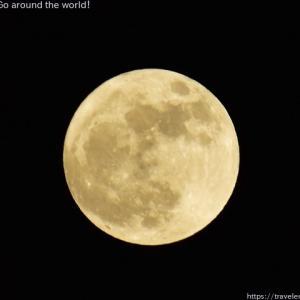 2020年10月31日ハロウィーン満月撮影
