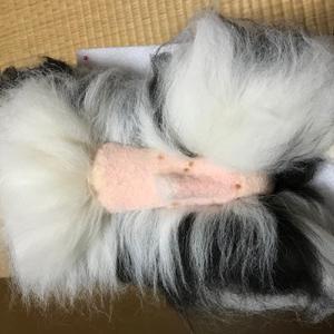 リアルくーちゃん ボディの植毛(6)