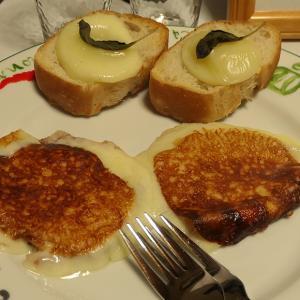 カチョカヴァロのステーキ