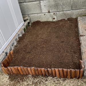 芝生 花壇づくり 〜土壌改良〜