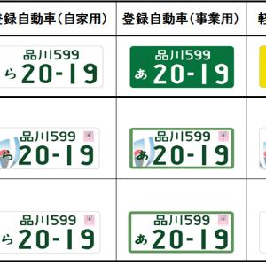 軽自動車 白ナンバー 取得記( ラグビーワールドカップ特別仕様ナンバー )