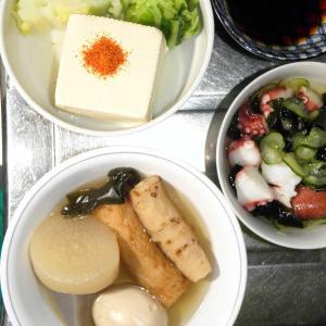 おでんと湯豆腐