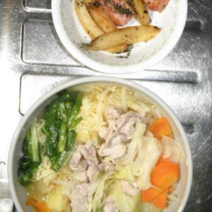 袋麺のワンタンメン
