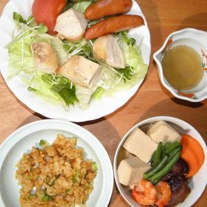 鶏胸肉サラダ