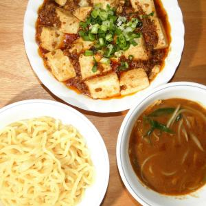 麻婆豆腐とつけ麺