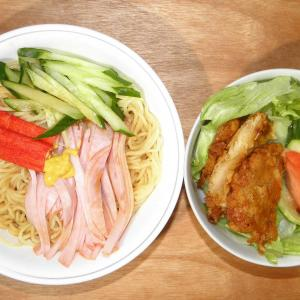 日清の中華風涼麺