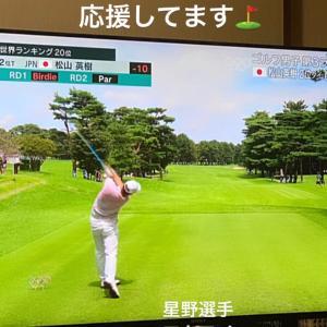 オリンピックゴルフ開催国だから朝から観れる幸せ