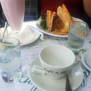 パリで約3か月ぶりのお茶&セーヌ川がどぶ川を卒業!