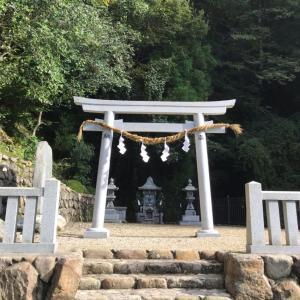 大和國〜八大龍王社と玉置神社。