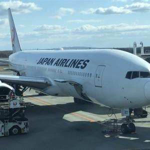 日本航空JAL505便 羽田空港発 新千歳空港行 搭乗記 搭乗手続 機内サービス 飛行ルート等